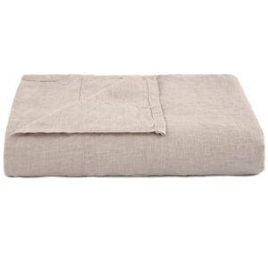 Putty French Linen Flat Sheet